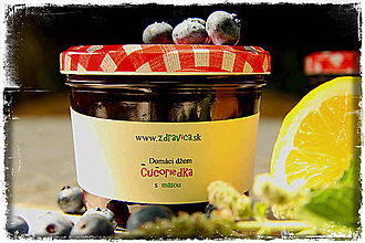 Potraviny - Čučoriedkový džem s karamelom a mätou - 8408606_
