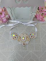 - Sujtášový náhrdelník + náušnice