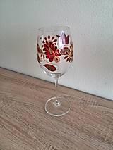 Nádoby - Pohár na víno červený 2 - 8407379_