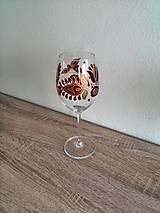 Nádoby - Pohár na víno červený 2 - 8407380_