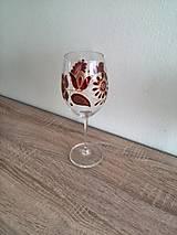 Nádoby - Pohár na víno červený 2 - 8407381_