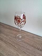 Nádoby - Pohár na víno červený 2 - 8407382_