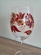 Nádoby - Pohár na víno červený 2 - 8407383_