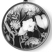 Náhrdelníky - Polní kvítí - autorský náhrdelník - velký - 8407300_