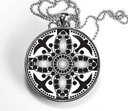 Náhrdelníky - Múdrosť a sloboda - autorský náhrdelník - velký - 8408087_