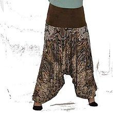 Nohavice - Turky ušatky hadí kůže - 8407270_