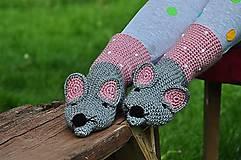 Topánočky - Detská myška pre dievčatá.. - 8409294_