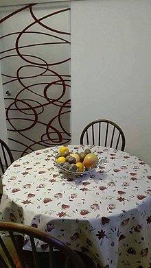 Úžitkový textil - obrus pre sestru... - 8410947_