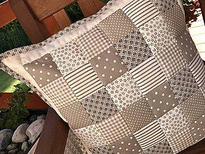 Úžitkový textil - béžovo - smotanová kombinácia - 8410120_