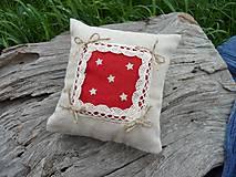 Úžitkový textil - Dekoračný vankúšik námornický I. - 8412491_