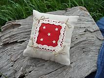 Úžitkový textil - Dekoračný vankúšik námornický I. - 8412492_