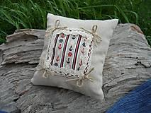 Úžitkový textil - Dekoračný vankúšik námornický IV. - 8412522_