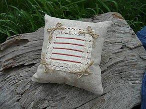 Úžitkový textil - Dekoračný vankúšik námornický III. - 8412509_