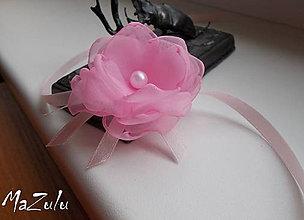 Náramky - svadobný náramok pre malé družičky - 8412208_
