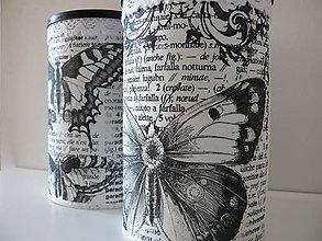 Nádoby - Dózy motýľové - 8410800_