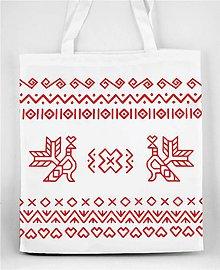 Nákupné tašky - Nákupná taška vzor Čičmany 02 - 8411320_