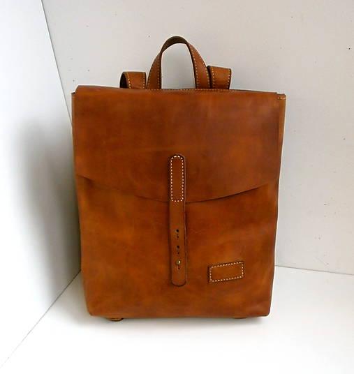 0f4f046183 Kožený batoh No.1   desana - SAShE.sk - Handmade Batohy