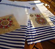 Úžitkový textil - Vrecúško - námornícke - 8409860_