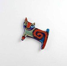 Odznaky/Brošne - Tana šperky - keramika/zlato - 8410934_