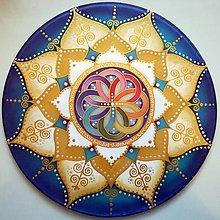 Dekorácie - Mandala nových začiatkov a nekonečnej energie - 8412396_