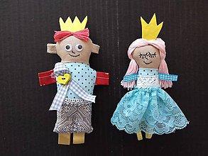 Magnetky - Princ a princezná - 8410056_