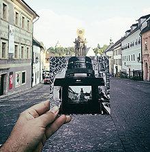 Papiernictvo - Leporelo s autorskou ilustráciou ,,Na Trojici v Štiavnici,, - 8412173_