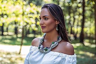 Sady šperkov - Hodvábny set Romantic - 8412375_