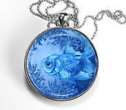 Rybička - autorský náhrdelník velký