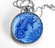 Morský koník - autorský náhrdelník velký
