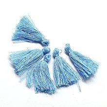 Galantéria - GAL6718, Ozdobný strapec/Modrý /1ks - 8412104_