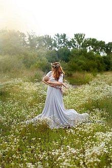 Tehotenské oblečenie - Šaty na fotenie - 8411835_
