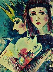 Obrazy - Si dnes bledá, Salome - 8412600_