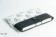 Papiernictvo - Obal na knihu - medvede - 8409519_