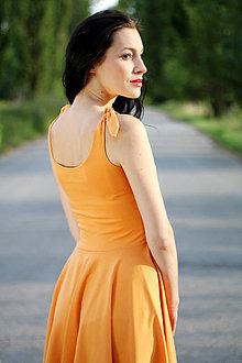Šaty - Šaty s viazaním na ramenách ZĽAVA!!! - 8412909_