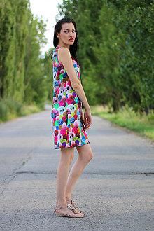 Šaty - Šaty bambulka - 8414157_