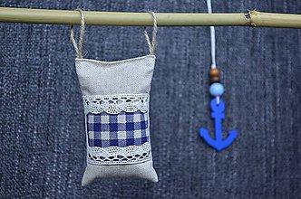 Dekorácie - Dekoračný námornický vankúšik I. - 8416008_