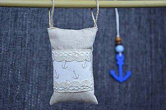 Dekorácie - Dekoračný námornický vankúšik IV. - 8416047_