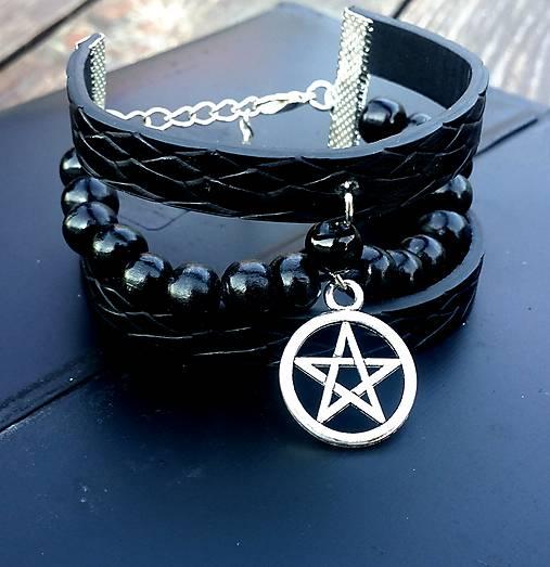 Náramok - Pentagram