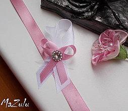 Pierka - svadobné pierko v staroružovom - 8413429_