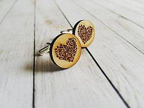 Šperky - Manžetové gombíky - 8412614_