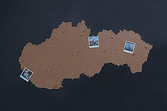 Dekorácie - Mapa Slovenska - 8415287_