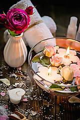 Svietidlá a sviečky - Plávajúca sviečka - 8412821_