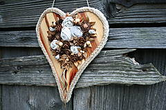 Dekorácie - srdce - 8412757_