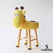 Úžitkový textil - Žirafa Gordon - 8415749_