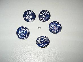 Galantéria - poťahované gombíky 36 - 8415621_