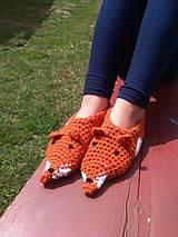 Topánočky - Líšky pre deti - 8414238_