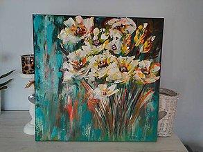 Obrazy - kvety PESTRé - 8417054_