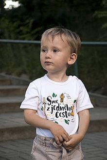 Detské oblečenie - Sme z jedného cesta II - body - 8418369_