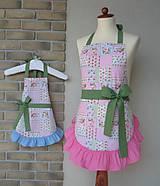 Iné oblečenie - zástery pre mamu a dcéru Andy - 8417751_