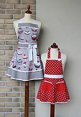 Iné oblečenie - zásterky pre mamu a dcéru Mufy - 8417780_
